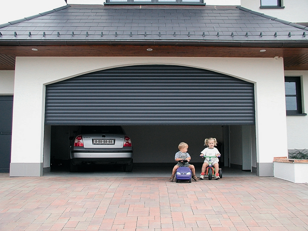 Secure Your Garage At The Touch Of A Button With A Roller Garage